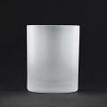 White Frosted Cylinder Votive Candle ( 72pcs)