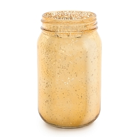 Gold Mercury Mason Jar (12pcs)