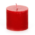 Red-Scented Mini Pillar Candle (24pcs)